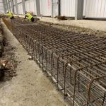 Duct pit slabs