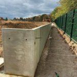 1000 precast concrete retaining wall