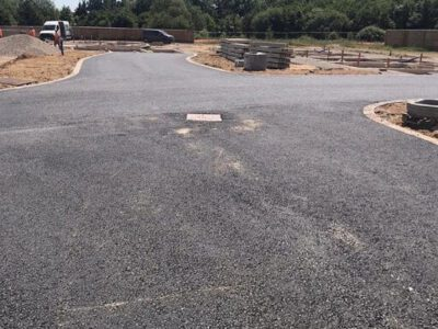 tarmac base course completed